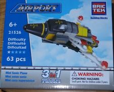 Mini Sonic Plane BricTek Building Block Construction Brick Toy 3in1 21526
