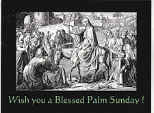 """*Postcard-EASTER-""""Wishing You A Blessed Palm Sunday!"""""""