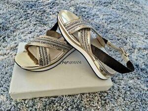 Brand new  Emporio Armani sandals size 40
