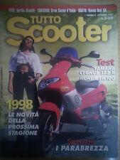 Tutto scooter N.5 Ottobre 1997 Aprilia Stealth Gilera Runner 125/180 Honda SH100