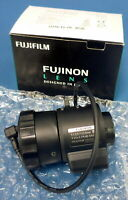New FijiFilm Fujinon Camera Lens Objective YVx2.7R4B-SA2L F1.3 / 2.7-13.5mm