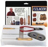 Baseball Glove DELUXE RELACER KIT Softball Lacing Relacing Repair Tools TAN