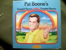 PAT BOONE'S GREATEST HYMNS 2 RECORD SET FAMOUS TWINSET PAS-2-1024