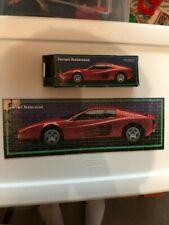 "New ListingF.X. Schmid Puzzle - 100 Pieces - Ferrari Testarossa - ""Great Cars"" Theme - 100%"