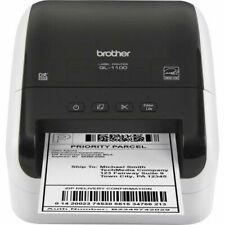 Brother QL-1100 Wide Format Barcode Label Printer - Black