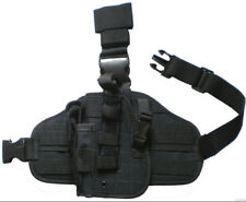 DROP LEG GUN HOLSTER LEFT HAND Baretta Glock Ruger S&W HK RIGHT Hand Pistol Case