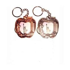 Keychain NYC Picture Frame Design Apple Shape