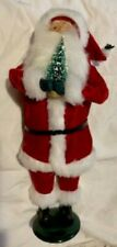 Byers Choice Ltd. Carolers Santa Claus With Christmas Tree 1993 Chalfont, Pa Usa