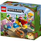 Lego Minecraft The Coral Reef Building Set 21164 Underwater Adventures Ages 7+