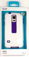 SS5FLIFWH ILUV Samsung Galaxy S5/V FlightFit Dual-Layer Case (White), Retail