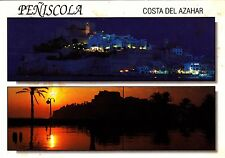 Peniscola , Costa Del Azahar , Ansichtskarte , gelaufen