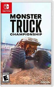 Monster Truck Championship Nintendo Switch Brand New Sealed