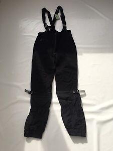 """Vintage 80's Ladies Black Race 🏁 Salopettes Ideal Fancy Dress SZ Waist 30"""" #26"""