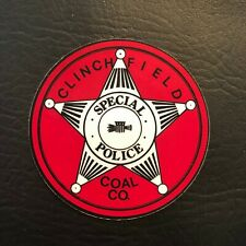 New listing Rare Clinchfield Coal Company Coal Mining Sticker Decal Vintage Lot Pittston