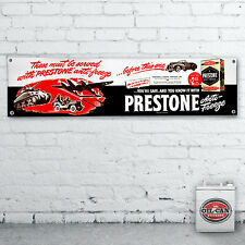PRESTONE advert Banner  –  heavy duty for workshop, garage, 1700 x 430mm