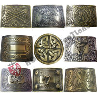 Men's Scottish Kilt Belt Buckle Various Design Antique Finish Celtic Knot Buckle