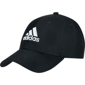 adidas Golf Performance Cap Mens Adjustible Golf Hat / NEW 2021 (Black)