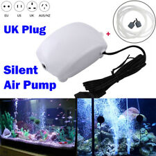 Aquarium Air Stone Pump Fish Tank Bubble Oxygen Hose Aerator Aquatic Supplies UK