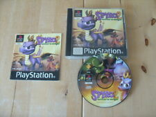 PLAYSTATION ONE GAME / PS1 - SPYRO 2 - GATEWAY TO GLIMMER - FREE P&P