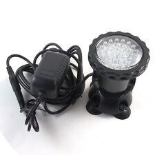 36 LED Submersible Underwater Spot Light for Water Garden Pond Fish tank Blue