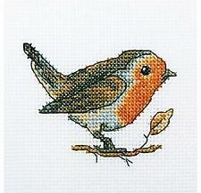 RTO Counted Cross Stitch Kit - Robin Redbreast