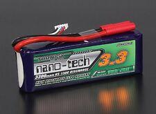 Turnigy N3300.3S.65 nano-tech 3300mah 3S 65~130C Lipo Pack 3S1P / 3 Cell / 11.1V