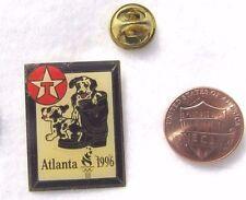 Atlanta 1996 Olymipics Texico Star Boot Puppies CowboyUSA Lapel Pin Pinback Hat