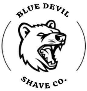 Blue DeVil Shave Soap - 125g - Tallow - Scented