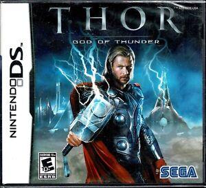 Thor God of Thunder Nintendo DS New Battle As Thor Storm Powers Legendary Hammer