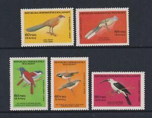 Malagasy - 1986, Birds set - MNH - SG 602/6