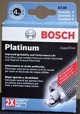 4 PCS - Bosch 6730 OE Fine Wire Platinum Spark Plugs (FR7DPP30T) for Volvo S60 8