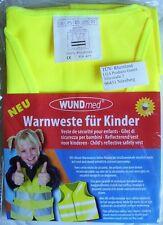 Kinder Warnweste gelb - Größe XS - CE EN 471 - mehr Sicherheit im Straßenverkehr