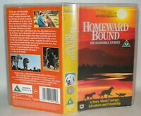 Homeward Bound- Incredible - Children's VHS Tape & Case. VHS, Collectable