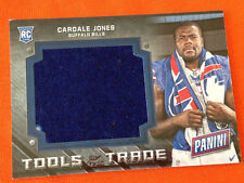 2016 Panini National Tools of the Trade TOWEL RC Relic CARDALE JONES Bills #1