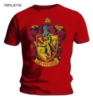 Official T Shirt Harry Potter Hogwarts   GRYFFINDOR House All Sizes