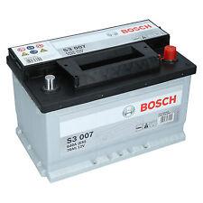 BOSCH S3 007  70Ah 12V 640A Autobatterie Starterbatterie sofort Einsatzbereit