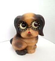 Vintage Oswald Puppy Dog Rolling Eye Clock Germany