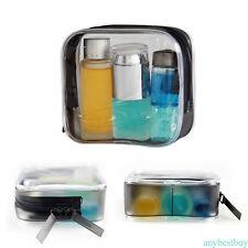 Transparent Purse Box Travel Makeup Cosmetic Bag Toiletry Case Pouch