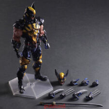 "Play Arts Kai PA Wolverine Action Figure Model Marvel PVC 10"" Statue X-MEN INBOX"