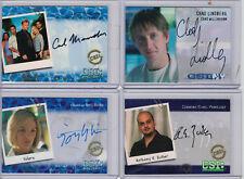 CSI: 2x Autograph Cards  freie Auswahl