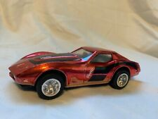 Vintage  Chevy Corvette Custom Chrome Paint by Zee Toys Plastic Friction