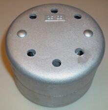 Antique Old Hit Miss Gas Engine Cast Iron Muffler 1-1/2 Npt