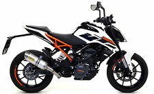 SILENCIEUX ARROW THUNDER ALU KTM DUKE 125 2017 - 71675MI+71860AO