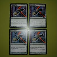 Demon's Horn x4 Magic 2012 M12 4x Playset Magic the Gathering MTG