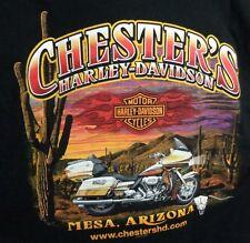 harley davidson t shirt mens small chesters hd mesa arizona tradition innovation