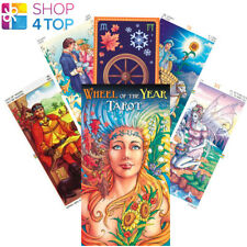WHEEL OF THE YEAR TAROT DECK CARDS PLATANO ESOTERIC FORTUNE TELLING NEW