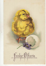 Frohe Ostern Easter Greetings Germany 1934 Postcard Us004
