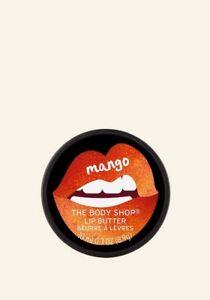 The Body Shop Mango Lip Butter Lip Balm 10ml Moisturising For Dry Skin New