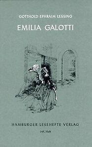Emilia Galotti von Lessing, Gotthold Ephraim | Buch | Zustand gut