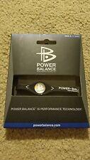 POWER BALANCE Wristband Bracelet Black Size S 17.5cm Silicone brand new